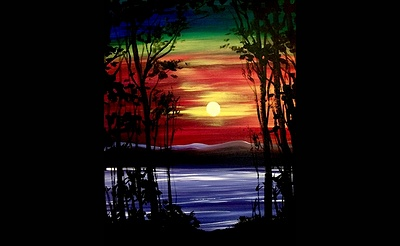 Paint Nite: Colors Shining Through