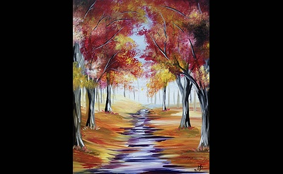 Paint Nite: Autumn Path V