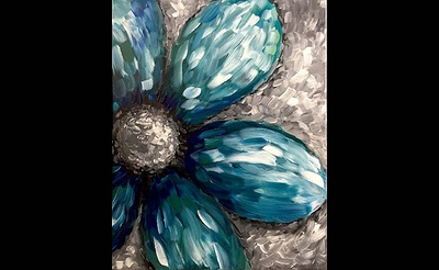Paint Nite: One Cool Flower