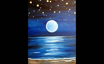 Paint Nite: Moon Glow