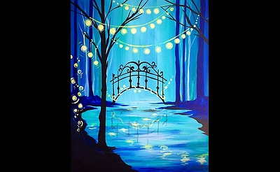 Paint Nite: Let Magic Light Your Way