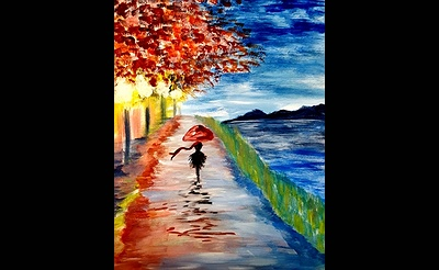 Paint Nite: Strolling Park Reflections