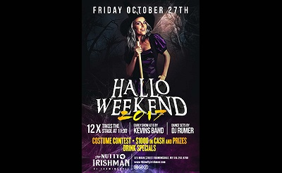 Friday of Halloween Weekend