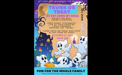 Trunk or Treat hosted by Macaroni Kid