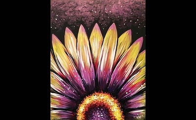 Paint Nite: Wild Night Flower
