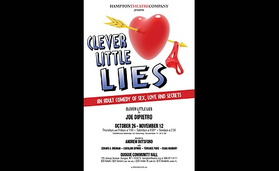 "Hampton Theatre Company presents ""Clever Little Lies"""