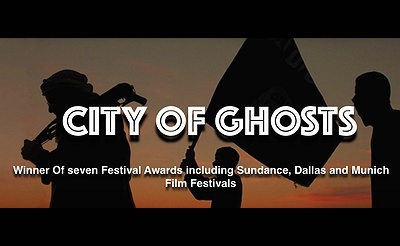 Film: CITY OF GHOSTS w/Pulitzer Prize-Winning International Journalist Roy Gutman for Q&A!