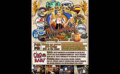 Ciao Baby Craft Beer presents Oktoberfest
