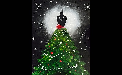Paint Nite: Christmas Couture
