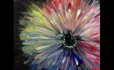 Paint Nite: Andromeda Flower