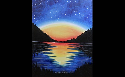 Paint Nite: High Peaks Starry Night