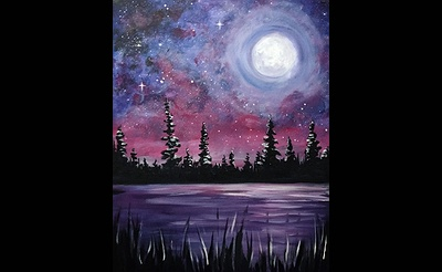 Paint Nite: Galaxy Lake II