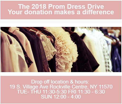 The 2018 Prom Dress Drive Your Donation Makes A Difference