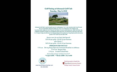 Golf Outing at Sebonack May 8,2018