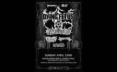 Dying Fetus at Revolution