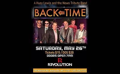 Back In Time: A Tribute To Huey Lewis & The News