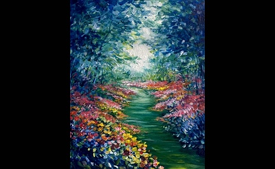 Paint Nite: Garden Path of Colors