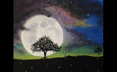 Paint Nite: Mystic Moon