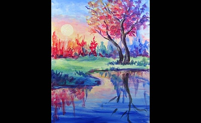 Paint Nite: Dawn of Color
