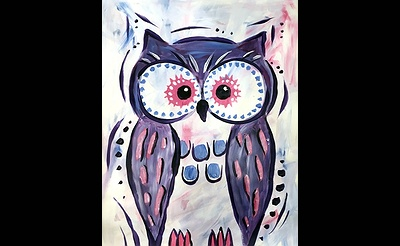 Paint Nite: Owl Friend