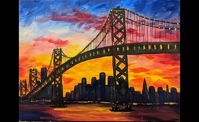 Paint Nite: Sunset in the City III