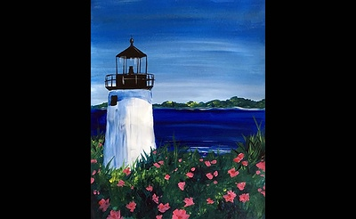 Paint Nite: Lighthouse Blooms