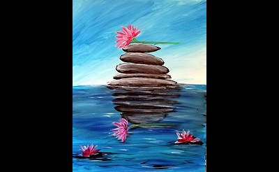Paint Nite: Classic Lotus Flower