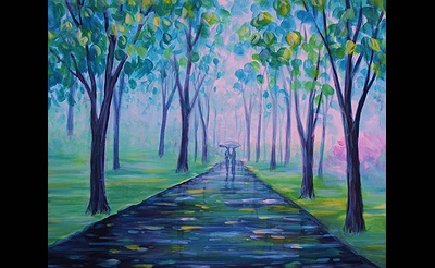 Paint Nite: April Stroll