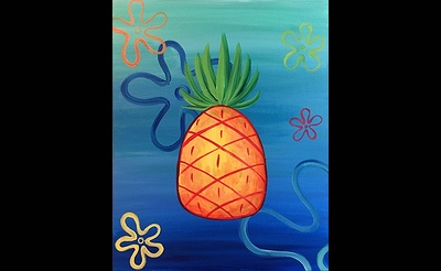 Paint Nite: Pineapple Under The Sea