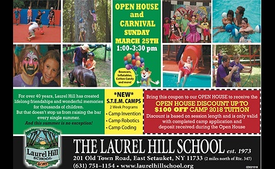The Laurel Hill School - Summer Camp Open House
