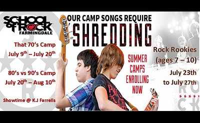 Music Summer Camps - That 70s Camp