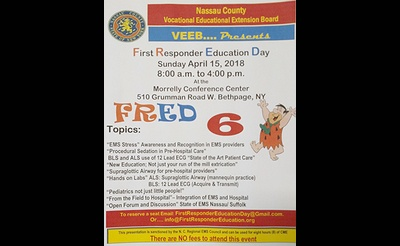 First Responder Education Day  (F.R.E.D.)