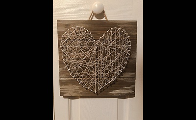 Events by WCGL Presents Pinterest Series 1: Wooden String Art - A Night of Apps and Art