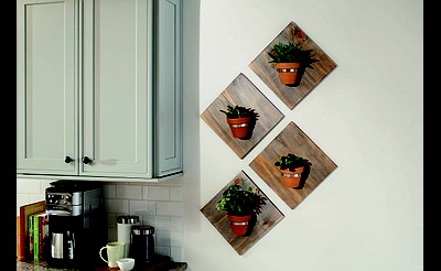 DIY Workshop: Modern Wall Planter