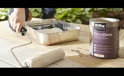 DIY Workshop: Deck & Patio Staining