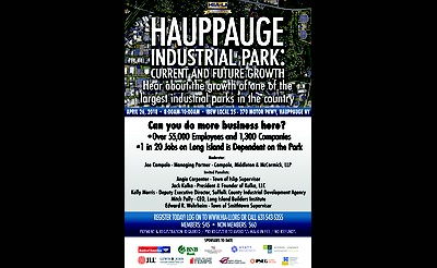 HIA-LI's Hauppauge Industrial Park: Current and Future Growth