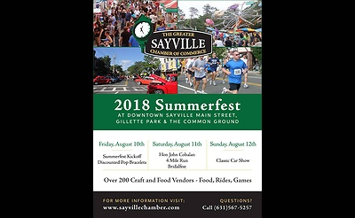 Sayville Summerfest 2018