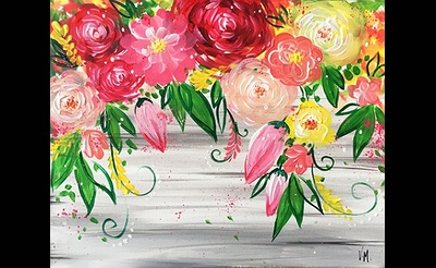 Paint Nite: Love Makes Everything Bloom
