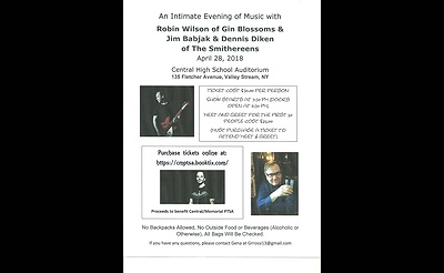 An Intimate Evening of Music with Robin Wilson of Gin Blossoms & Jim Babjak & Dennis Diken of The Smithereens