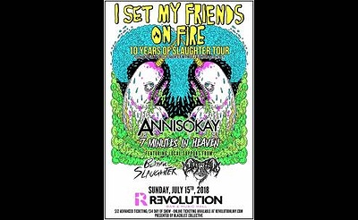 I Set My Friends On Fire: 10 Years Of Slaughter Tour