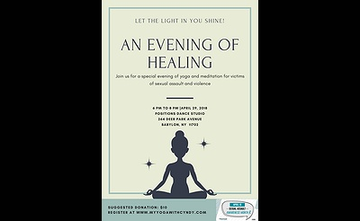 An Evening of Yoga for Healing