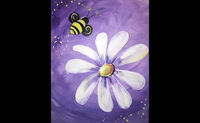 Paint Nite: This Spring, Save the Bees