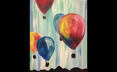 Paint Nite: Up Up & Away