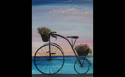 Paint Nite: Beach Bike