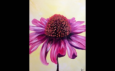 Paint Nite: Coneflower Pop