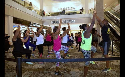 Cardio Sweat Party for Nordstrom RFM Triple Points Event