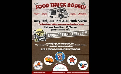 Food Truck Rodeo at Crossroads Farm
