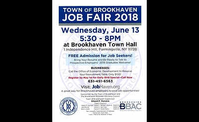 Town of Brookhaven Job Fair 2018