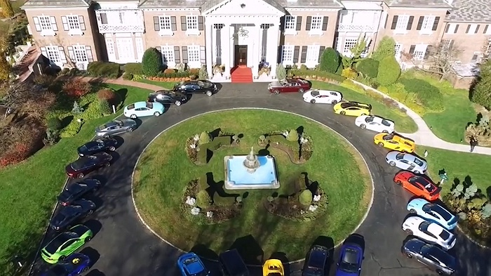 2018 The Mansion At Glen Cove Exotic Auto Show