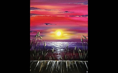 Paint Nite: By The Dock Of The Bay